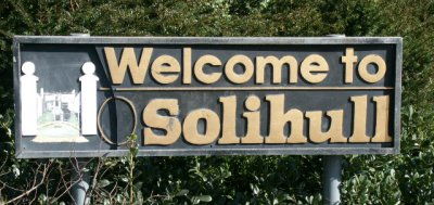 Welcome to Solihull Sign