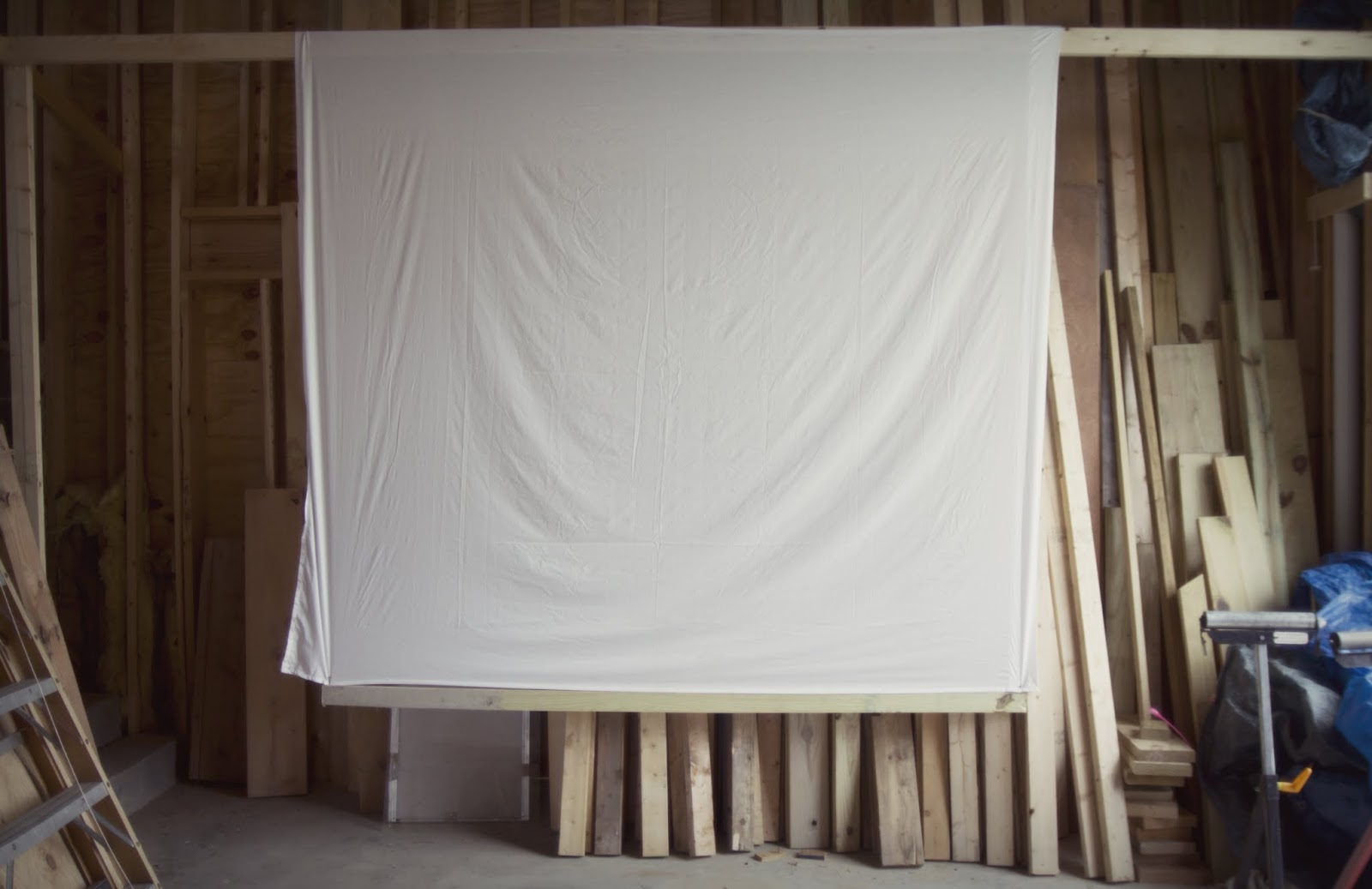 Bed Sheet to Movie Screen