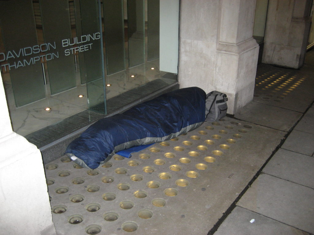 UK Rental Market Causing Homelessness