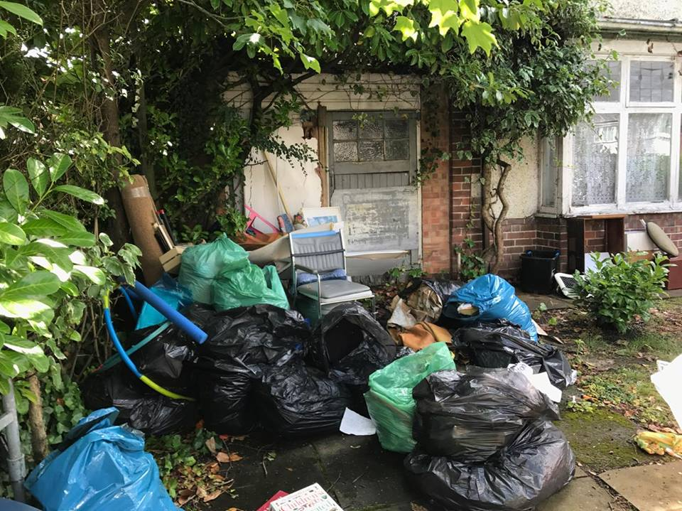 Clearing the Clutter at a Lichfield House Clearance - A Very Real Compulsive Hoarder